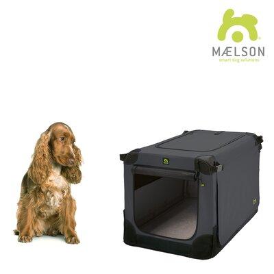 "Soft Kennel Size: 20.8"" H x 20.8"" W x 28"" L, Color: Black / Anthracite"