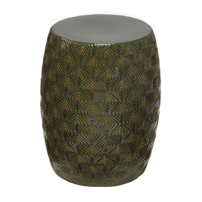 Leonard Garden Stool Color: Green