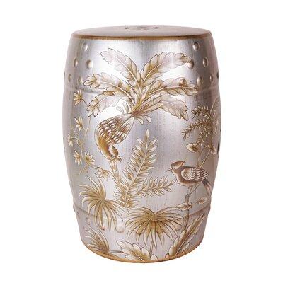 Moumoune Ceramic Garden Stool