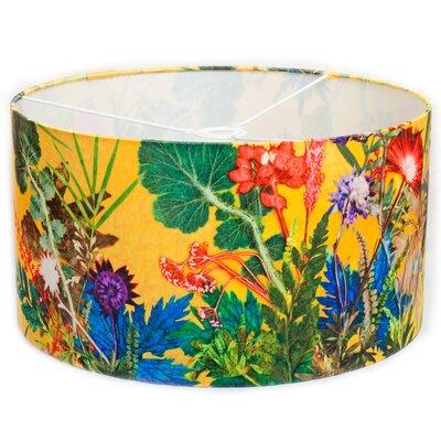 Gillian Arnold 45cm Summer Tropics Fabric Drum Lamp Shade