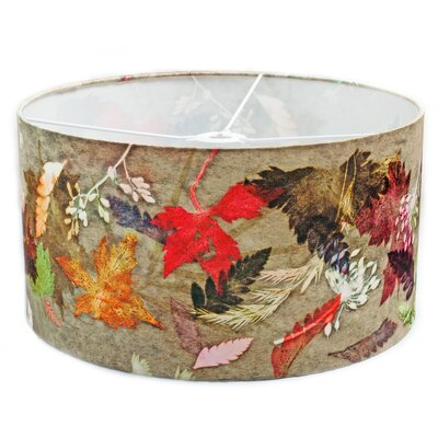 Gillian Arnold 45cm Floral Dance Fabric Drum Pendant Shade