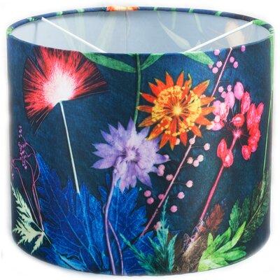 Gillian Arnold 30cm Tropical Fabric Drum Lamp Shade