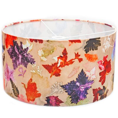 Gillian Arnold 45cm Autumn Flurry Fabric Drum Lamp Shade