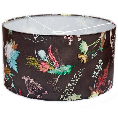 Gillian Arnold 45cm Edwardian Blooms Fabric Drum Lamp Shade