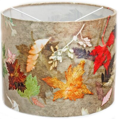 Gillian Arnold 30cm Floral Dance Fabric Drum Pendant Shade