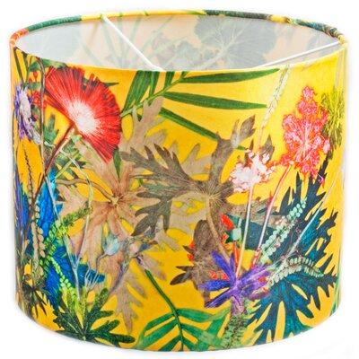 Gillian Arnold 30cm Summer Tropics Fabric Drum Pendant Shade
