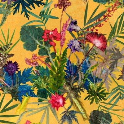 Gillian Arnold Summer Tropics 10m L x 52cm W Roll Wallpaper