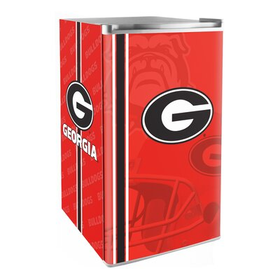 3.2 cu. ft. Upright Freezer NCAA Team: Georgia Bulldogs and Lady Bulldogs