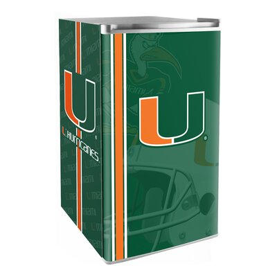 3.2 cu. ft. Upright Freezer NCAA Team: Miami Hurricanes