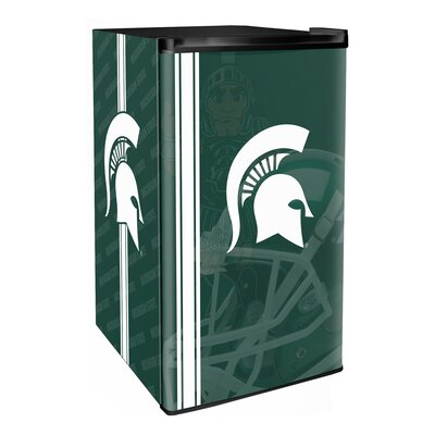 3.2 cu. ft. Upright Freezer NCAA Team: Michigan State Spartans