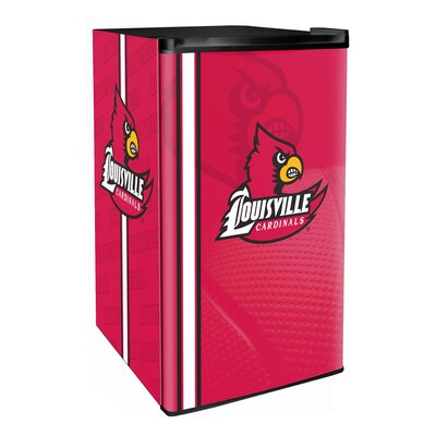3.2 cu. ft. Upright Freezer NCAA Team: Louisville Cardinals