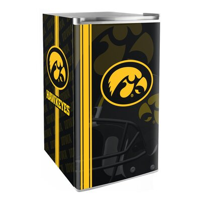 3.2 cu. ft. Upright Freezer NCAA Team: Iowa Hawkeyes