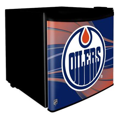 1.6 cu. ft. Upright Freezer NHL Team: Edmonton Oilers