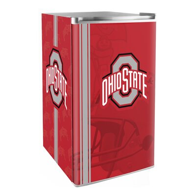 3.2 cu. ft. Upright Freezer NCAA Team: Ohio State Buckeyes