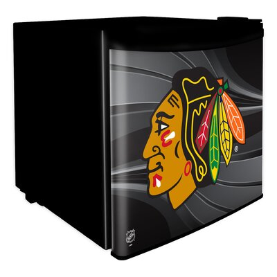 1.6 cu. ft. Upright Freezer NHL Team: Chicago Blackhawks