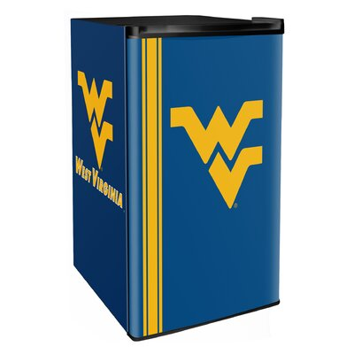 3.2 cu. ft. Upright Freezer NCAA Team: West Virginia Mountaineers