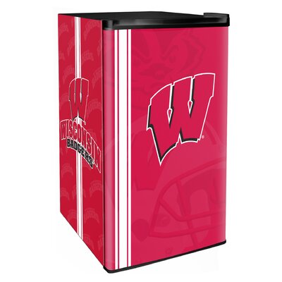 3.2 cu. ft. Upright Freezer NCAA Team: Wisconsin Badgers