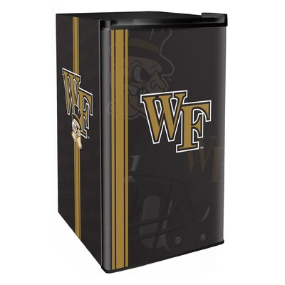 3.2 cu. ft. Upright Freezer NCAA Team: Wake Forest Demon Deacons