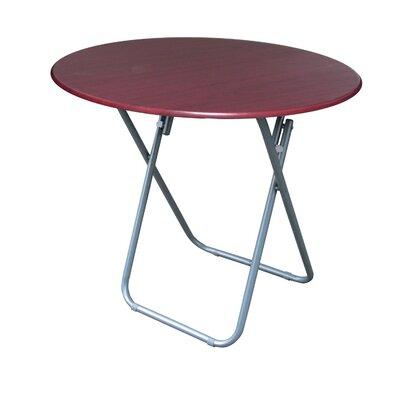 "24"" Round Folding Table Finish: Cherry"