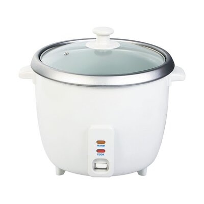 Electric Rice Cooker Size: 10 Cups
