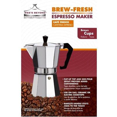 Brew-Fresh Espresso Maker Size: 12 Cups