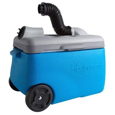 38 Qt. Portable Air Conditioner & Cooler Color: Blue