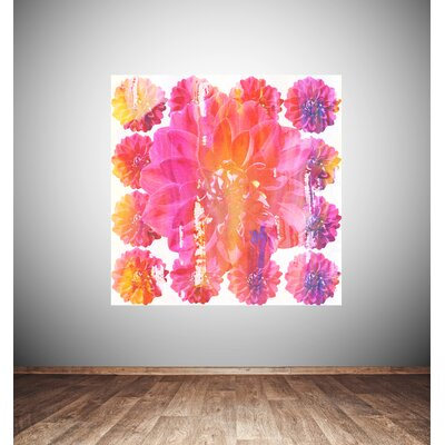 Andrew Lee Flower Blossom by Andrew Lee Graphic Art Wrapped on Canvas