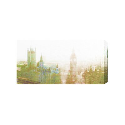 Andrew Lee London Oldy Ben by Andrew Lee Graphic Art on Canvas