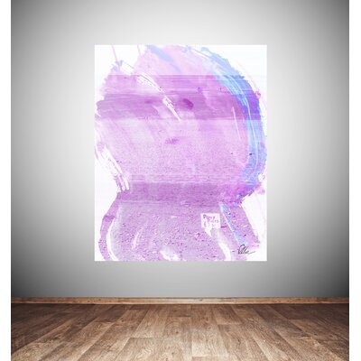 Andrew Lee Beach Pink Pony Ride by Andrew Lee Art Print Wrapped on Canvas