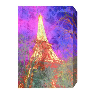 Andrew Lee French Pinky Tower by Andrew Lee Graphic Art Wrapped on Canvas