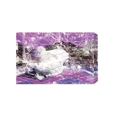 Andrew Lee Flower Chickhen by Andrew Lee Graphic Art Wrapped on Canvas