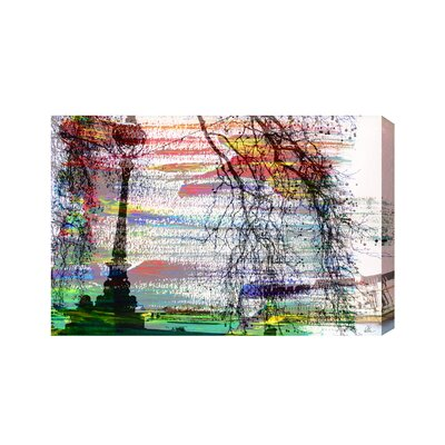 Andrew Lee London Light and View by Andrew Lee Graphic Art Wrapped on Canvas
