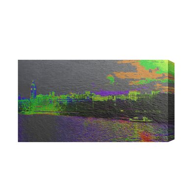 Andrew Lee London Landscape with a Difference by Andrew Lee Graphic Art on Canvas