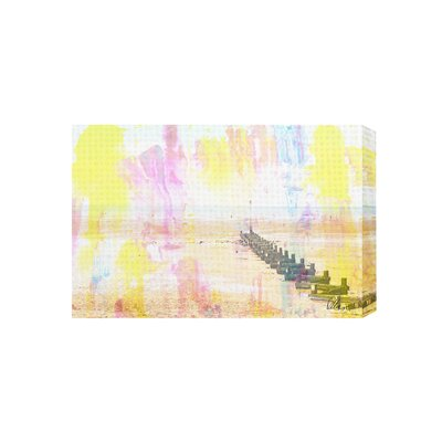 Andrew Lee Colourful Beach by Andrew Lee Graphic Art on Canvas
