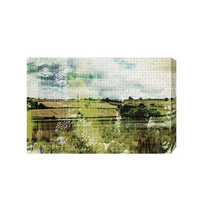 Andrew Lee Countryside Classic Lakeview by Andrew Lee Graphic Art Wrapped on Canvas