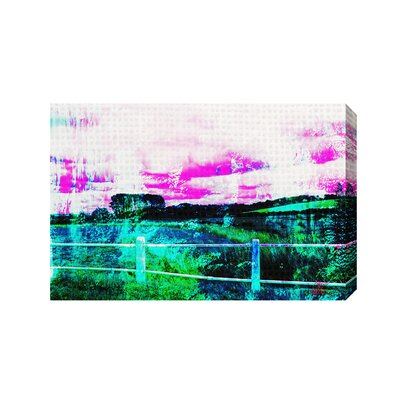 Andrew Lee Countryside Fluorescent by Andrew Lee Graphic Art Wrapped on Canvas
