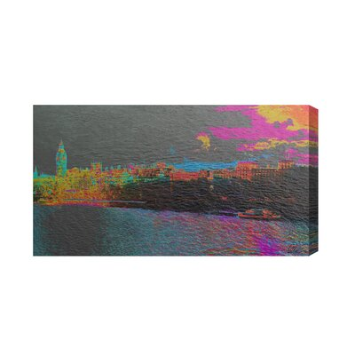 Andrew Lee London Landscape by Andrew Lee Graphic Art on Canvas