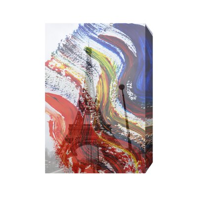 Andrew Lee French Paris in Paint by Andrew Lee Graphic Art on Canvas