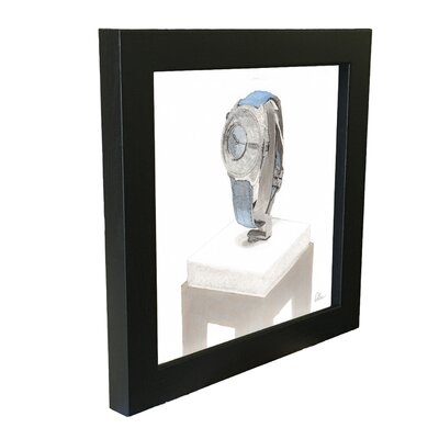 Andrew Lee Crystal Watch Framed Art Print