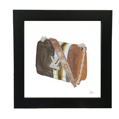 Andrew Lee Stylish Bag Framed Art Print on Canvas