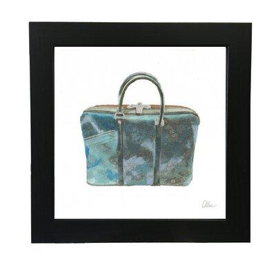 Andrew Lee Green Handbag Framed Art Print