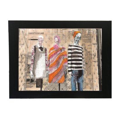 Andrew Lee Shopping the Look Framed Art Print