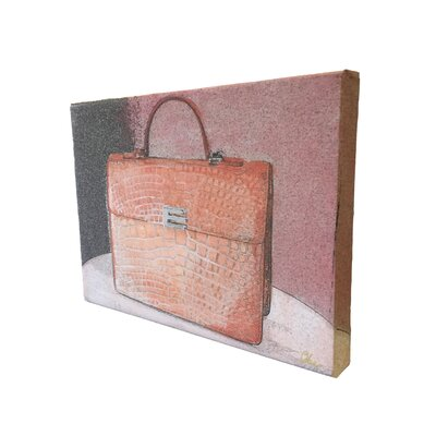 "Andrew Lee Fashion ""Bag"" Art Print Wrapped on Canvas"