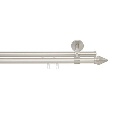 Blome Cheops Curtain Pole and Hardware Set