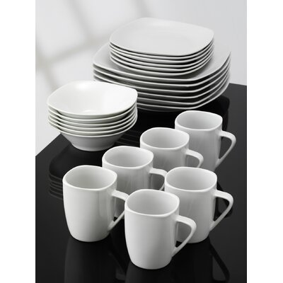 Aida Bistro 24 Piece Dinnerware Set
