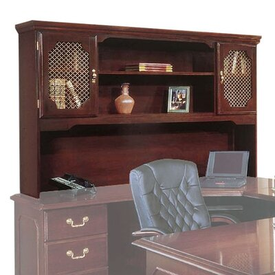 """Governor's 46"""" H x 66"""" W Desk Hutch"""
