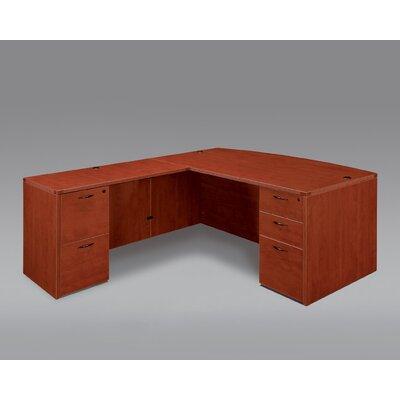 Flexsteel Contract Fairplex Executive Desk with Double Pedestals