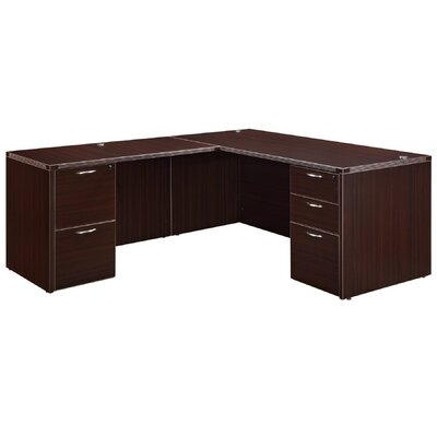 Fairplex Right / Left Junior 5 Drawer L-Shape Executive Desk
