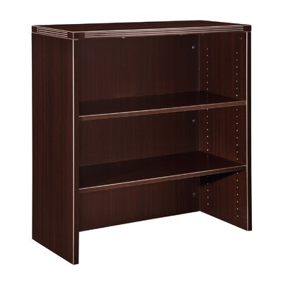 "Fairplex 36"" H x 35.5"" W Desk Hutch Finish: Mocha"