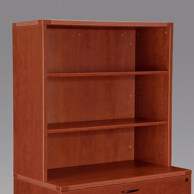 "Fairplex 36"" H x 35.5"" W Desk Hutch Finish: Cognac Cherry"